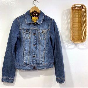 Hollister Lined Denim Jacket Jeans Jacket Medium